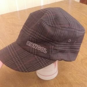 Kangol plaid hat